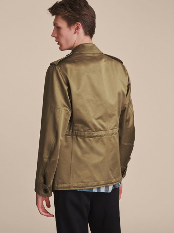 Cotton Field Jacket with Detachable Warmer - cell image 2