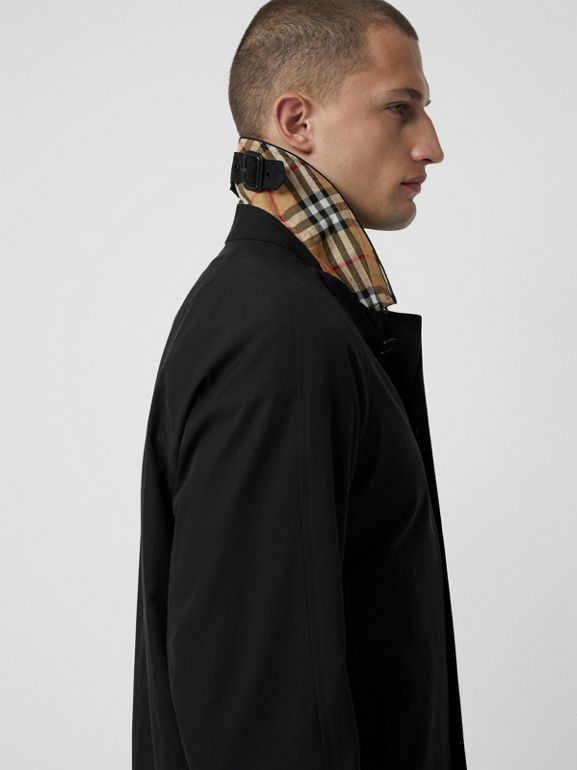 The Camden Car Coat in Black - Men | Burberry Australia - cell image 1