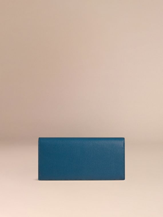 Mineral blue London Leather Continental Wallet Mineral Blue - cell image 3