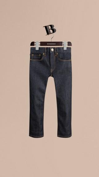 Jean indigo de coupe skinny