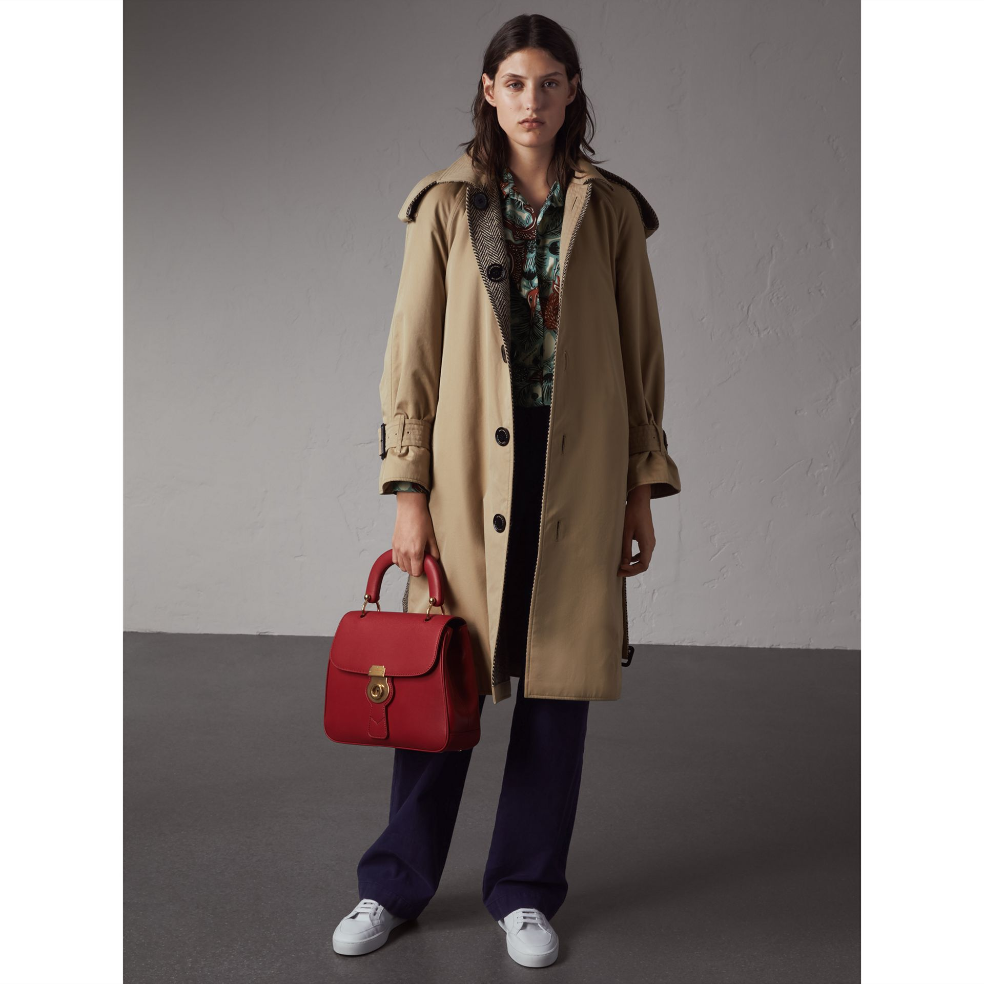 Reversible Donegal Tweed and Gabardine Trench Coat - Women | Burberry - gallery image 1