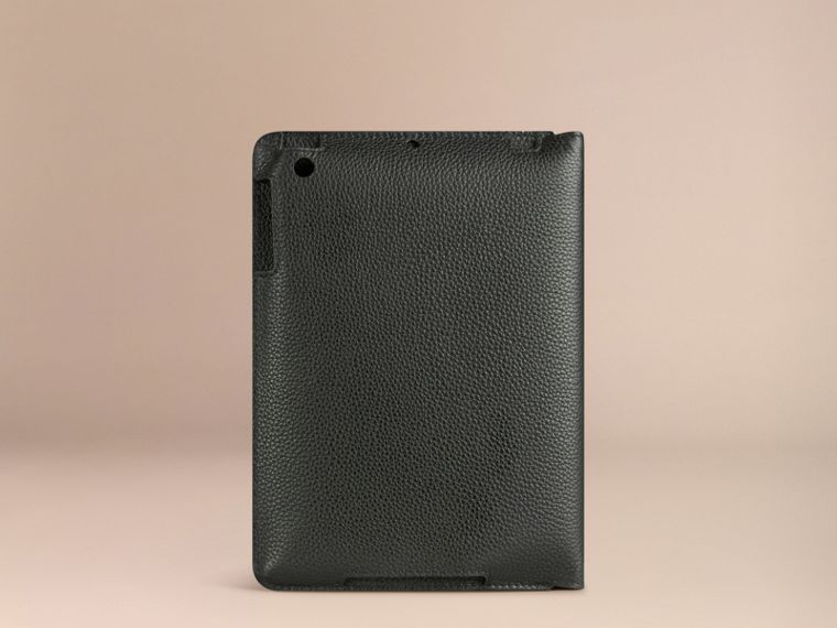 Black Grainy Leather iPad Mini Case Black - cell image 1