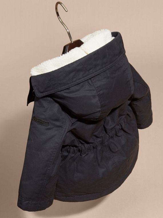 Down-filled Coat with Detachable Hood Lining - cell image 3