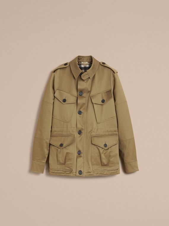 Cotton Field Jacket with Detachable Warmer - cell image 3