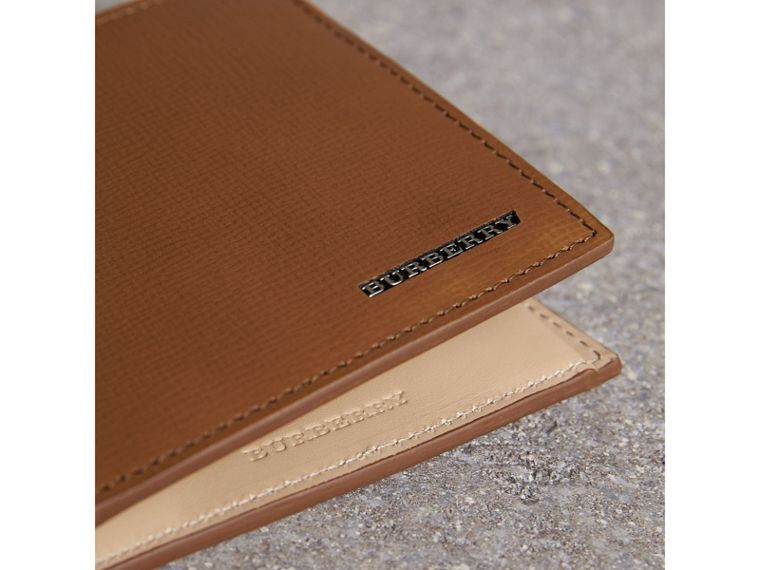 London Leather Folding Coin Wallet | Burberry - cell image 4