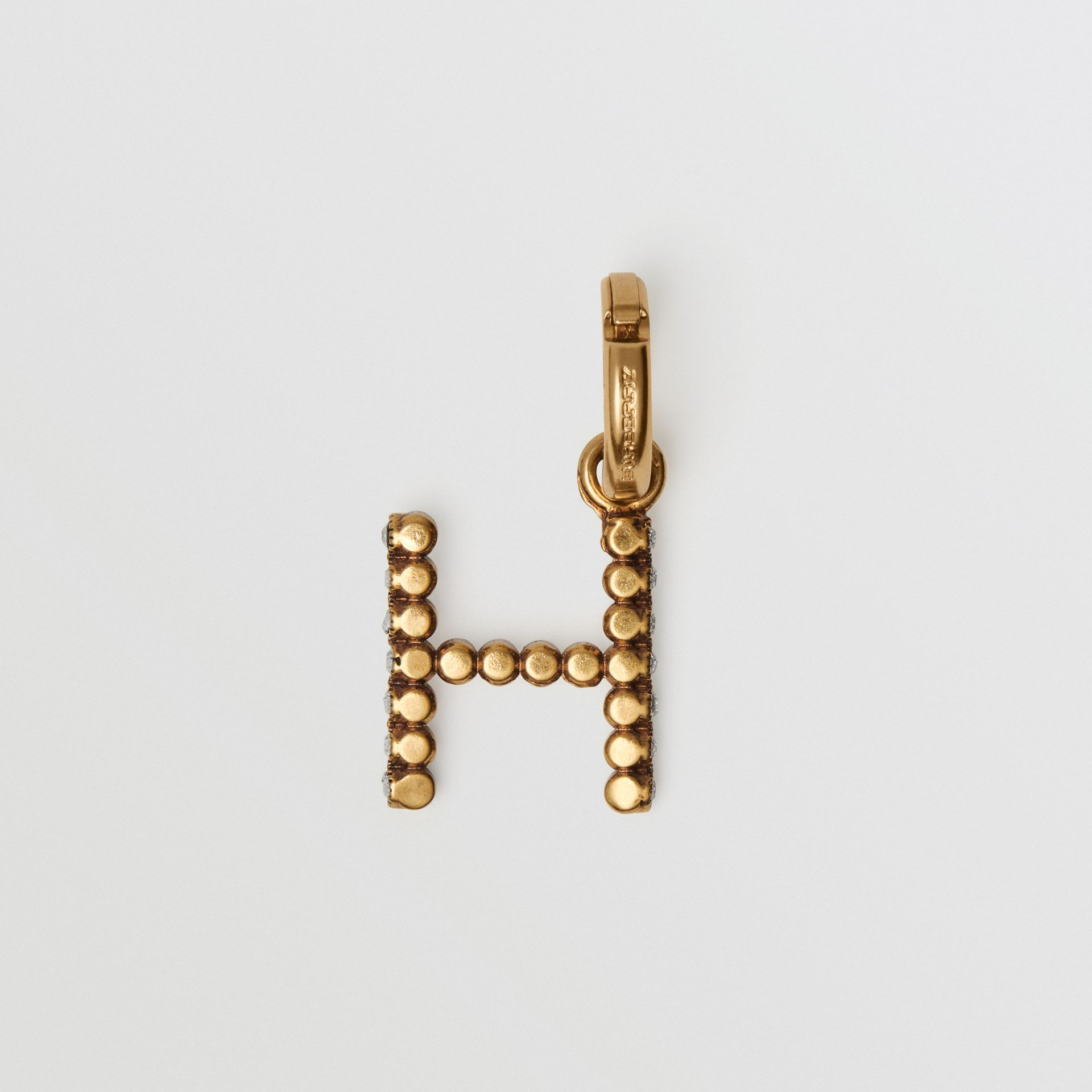 Crystal 'H' Alphabet Charm - Women | Burberry - gallery image 3