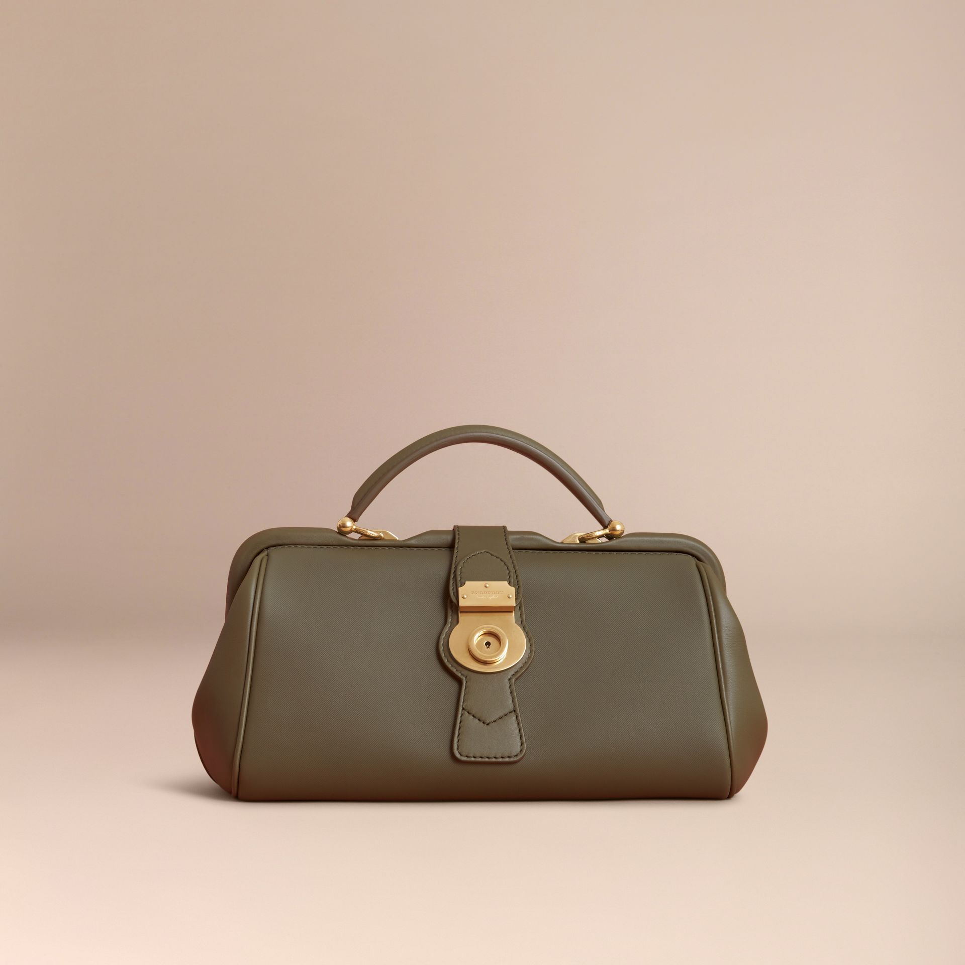 The DK88 Bowling Bag in Moss Green - Women | Burberry United Kingdom - gallery image 7