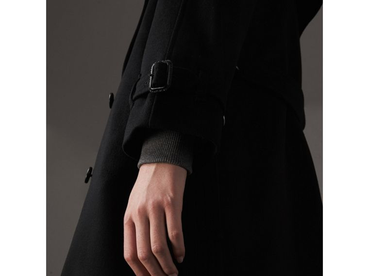 Cashmere Trench Coat in Black - Women | Burberry - cell image 1