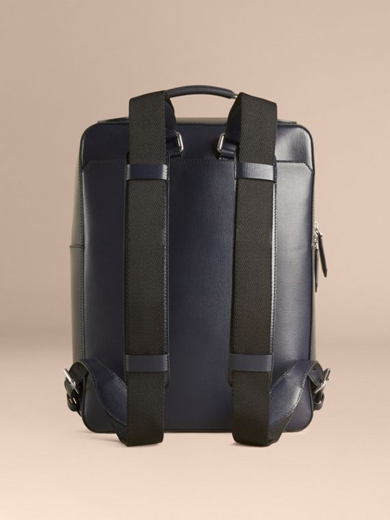 Dark navy London Leather Backpack Dark Navy - cell image 3
