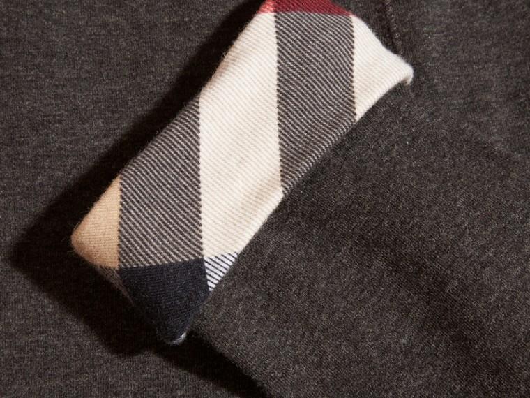 Mid grey melange Stretch Cotton Leggings Mid Grey Melange - cell image 1