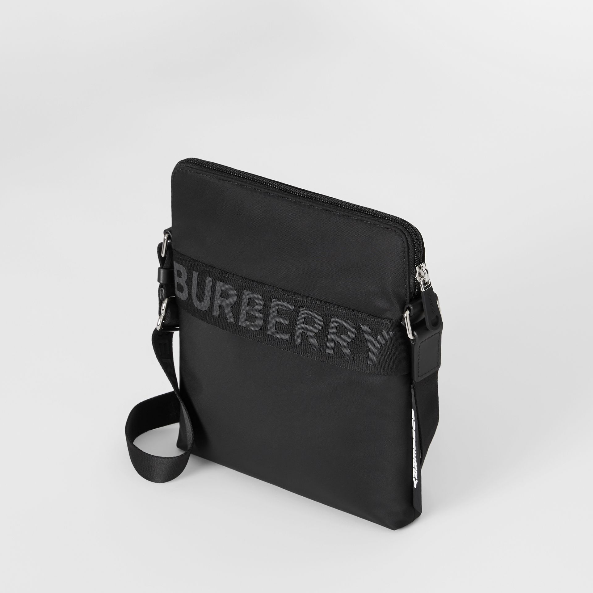 Logo Detail Crossbody Bag in Black - Men | Burberry - gallery image 3