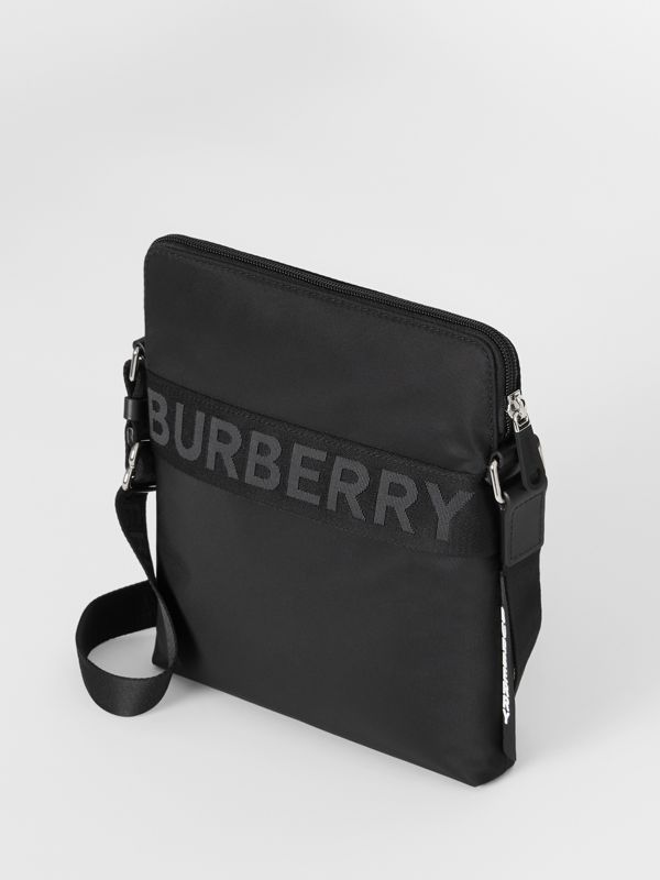 Logo Detail Crossbody Bag in Black - Men | Burberry - cell image 3