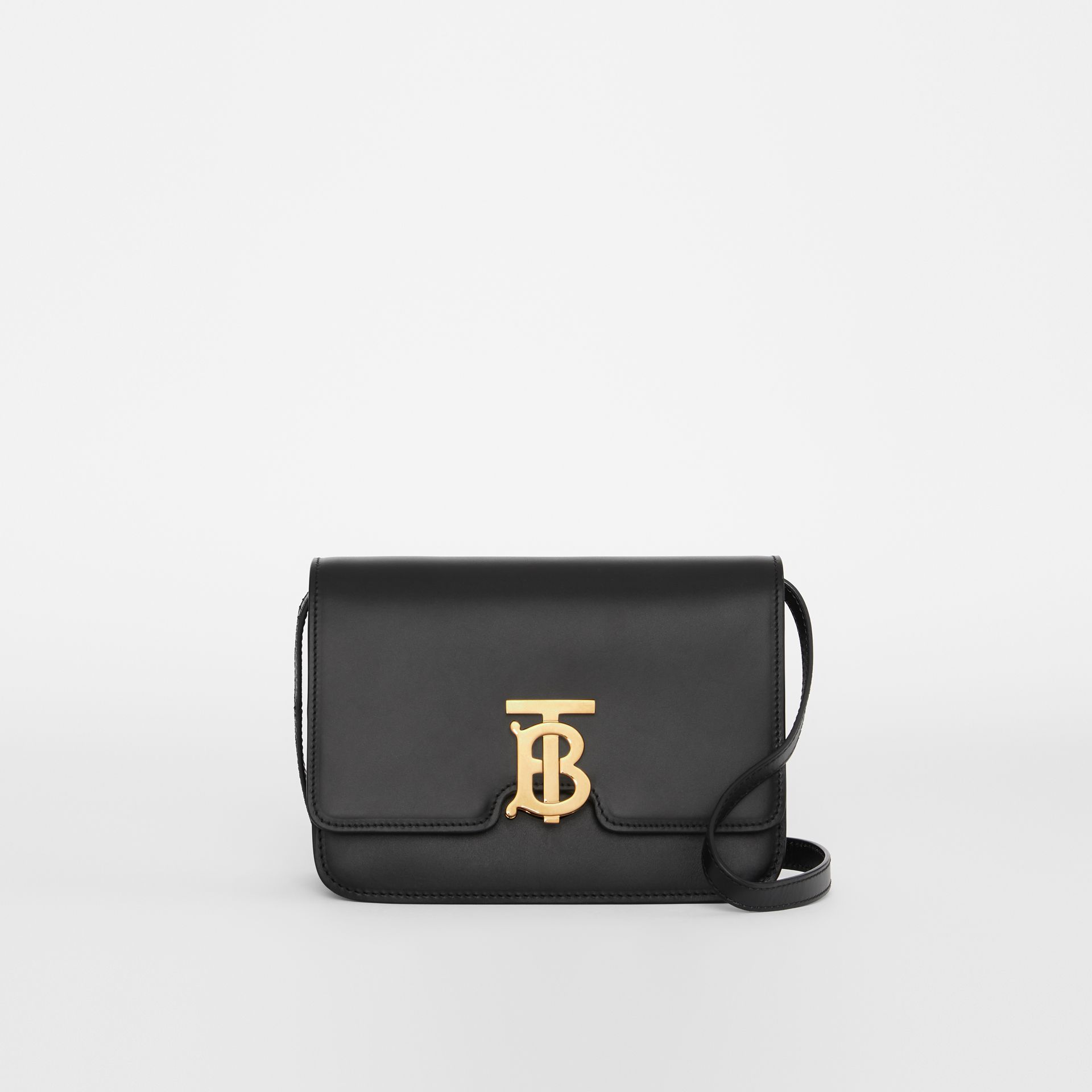 Small Leather TB Bag in Black - Women | Burberry - gallery image 0