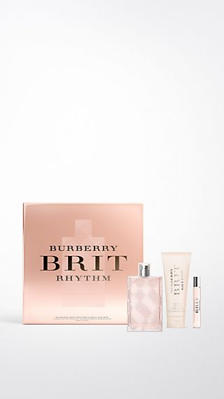 Burberry Brit Rhythm Floral for Women Luxury Set