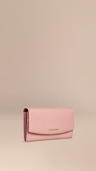Patent London Leather Continental Wallet