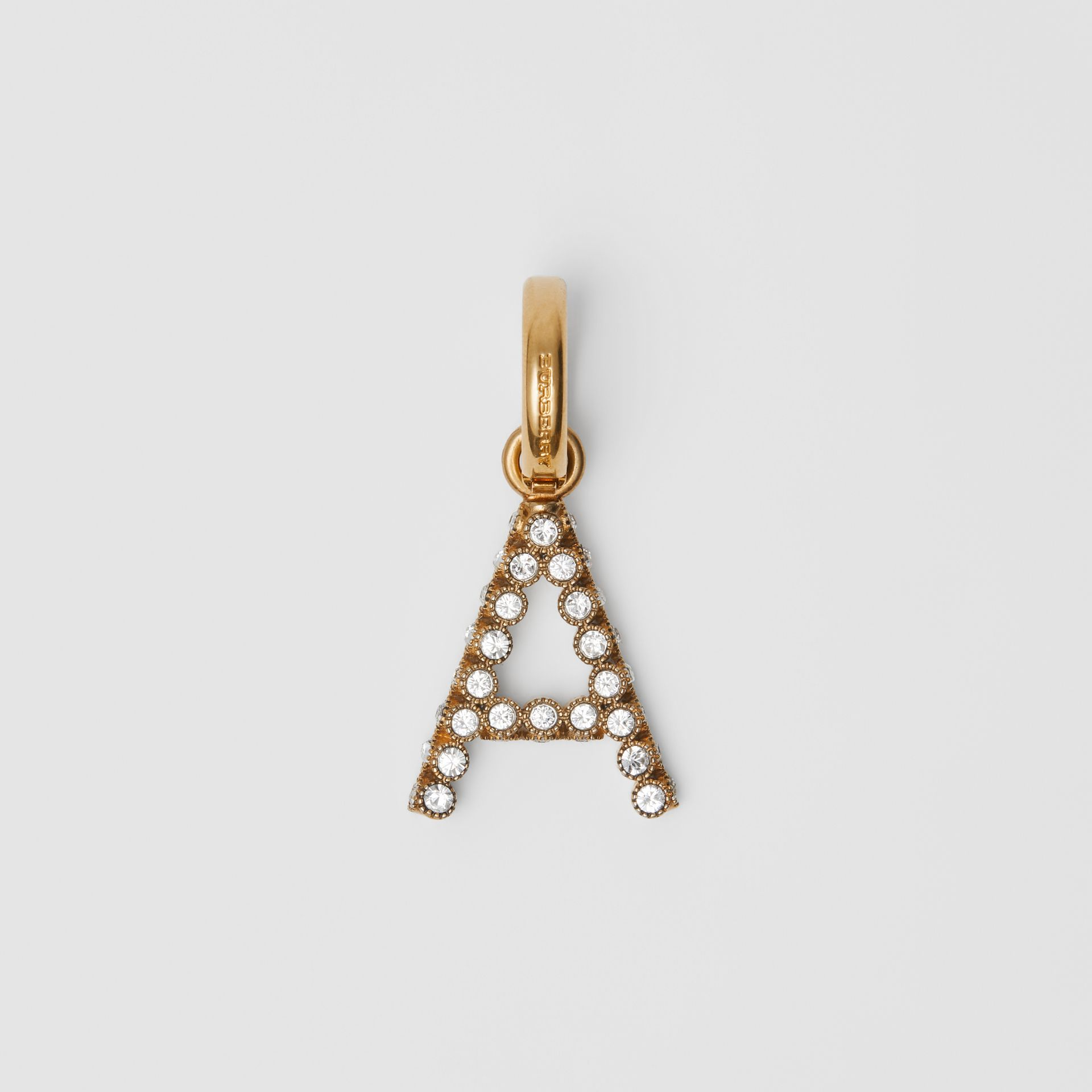 Crystal 'A' Alphabet Charm - Women | Burberry United States - gallery image 0