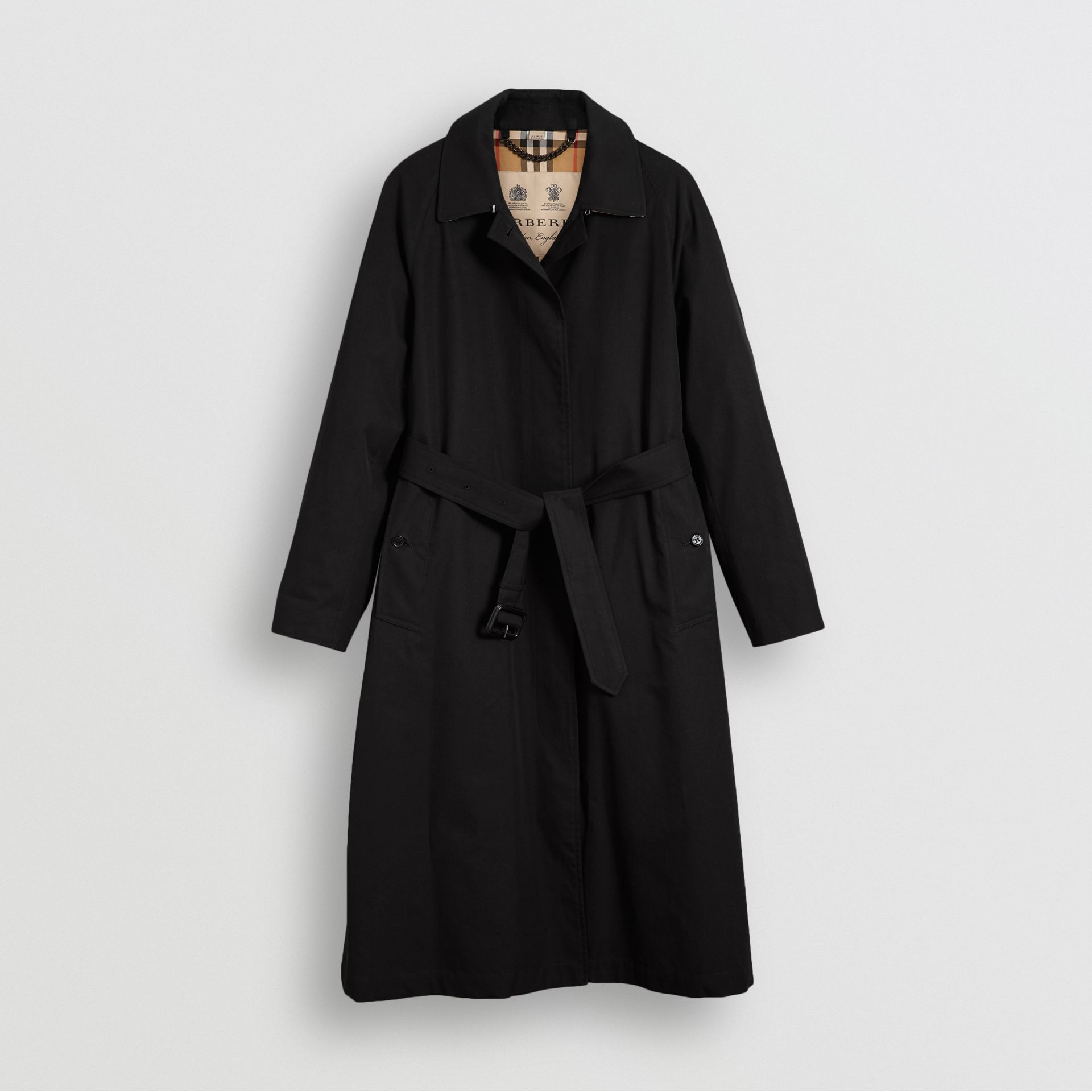 The Brighton Car Coat in Black - Women | Burberry - gallery image 3