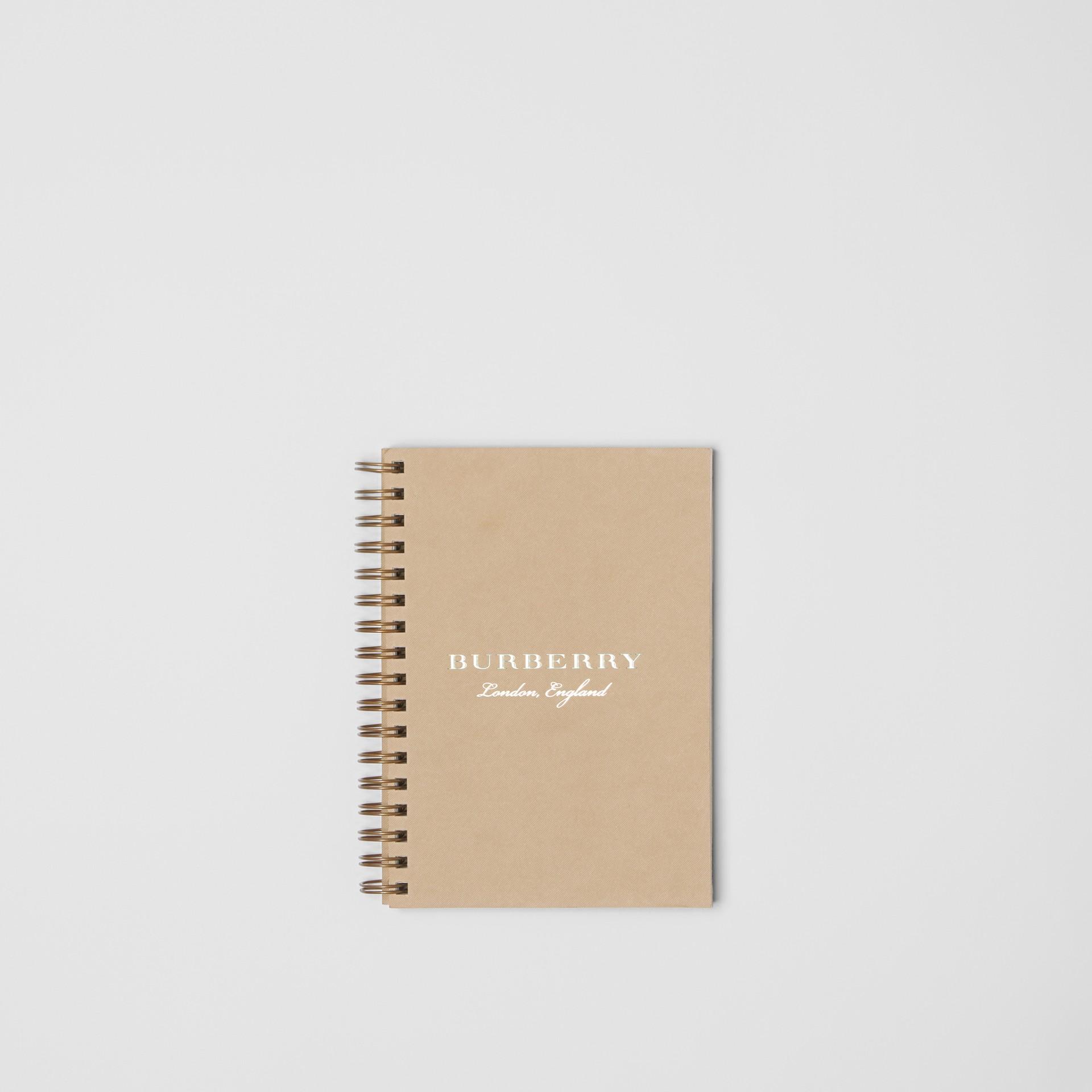 Cuaderno de recambio de formato A6 (Miel) | Burberry - imagen de la galería 0