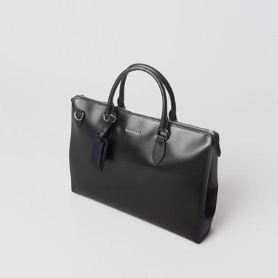 Burberry - Grand attaché-case en cuir London - 4