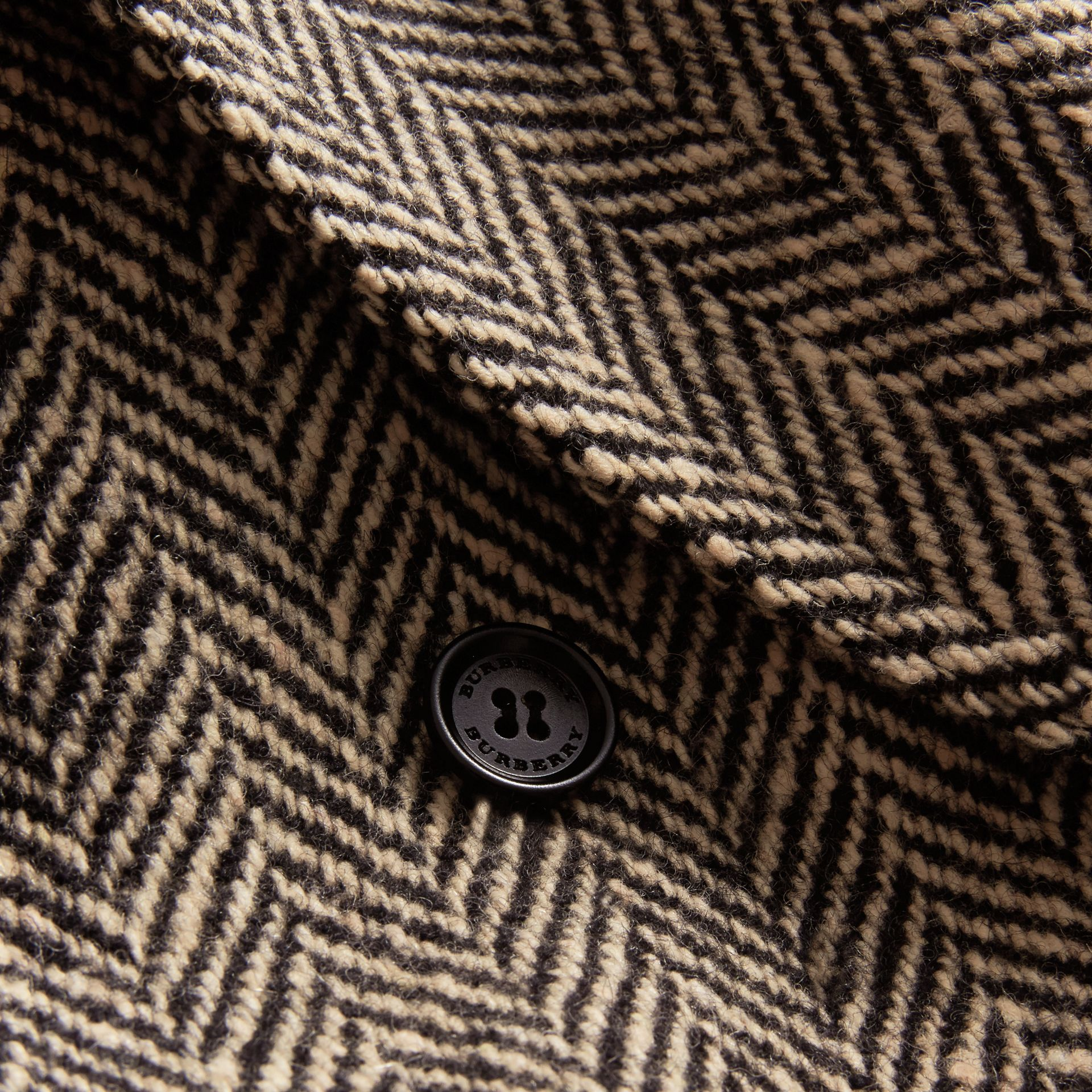 Donegal Herringbone Wool Tweed Blazer - Men | Burberry Hong Kong - gallery image 2