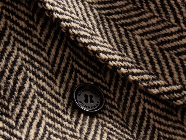Donegal Herringbone Wool Tweed Blazer - Men | Burberry - cell image 1