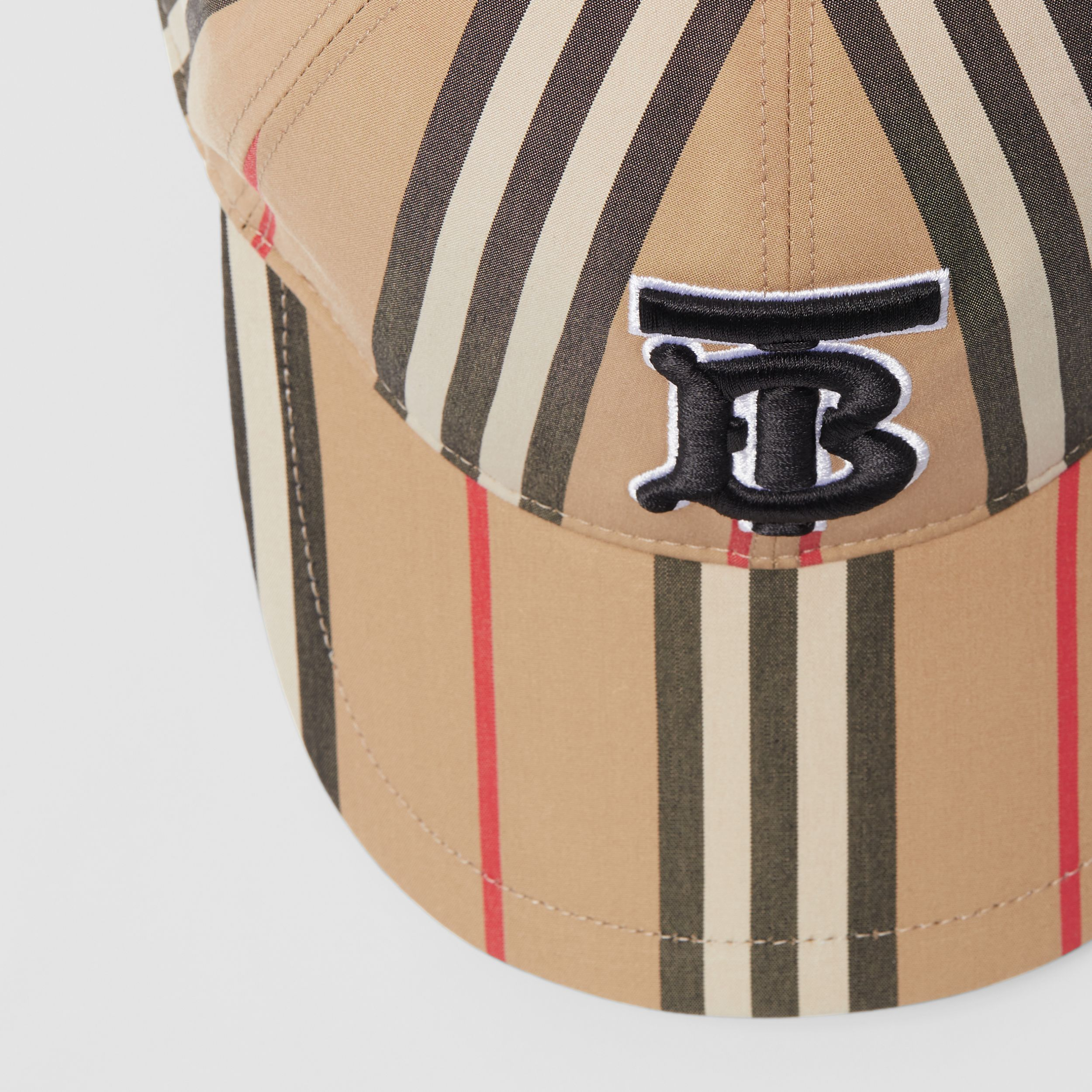 Icon Stripe Baseball Cap in Archive Beige | Burberry Canada - 2