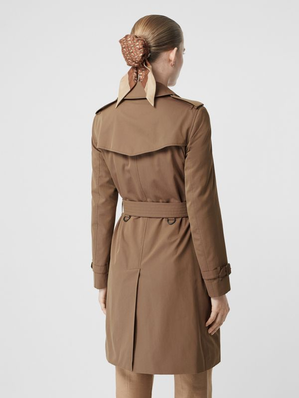 Tropical Gabardine Trench Coat in Taupe - Women | Burberry - cell image 2