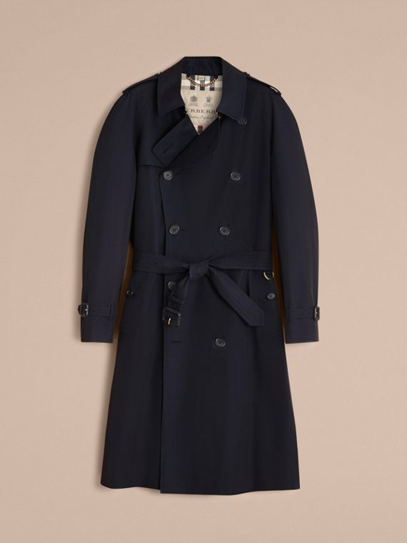 The Westminster – Long Heritage Trench Coat in Navy - cell image 3