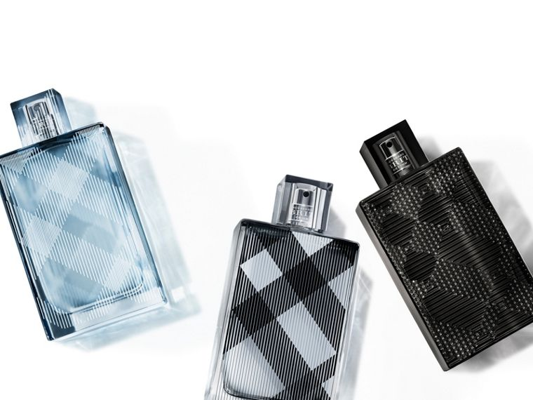 Burberry Brit for Him Eau de Toilette Set in Black - Men | Burberry - cell image 1
