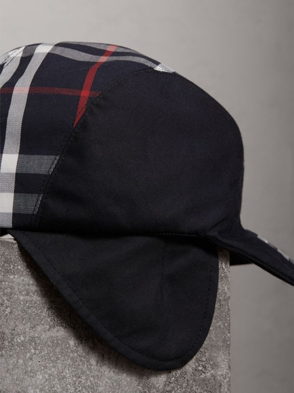 Gosha x Burberry Duckbill Cap in Navy - Men | Burberry - cell image 1