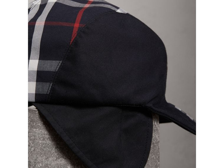 Gosha x Burberry Duckbill Cap in Navy | Burberry - cell image 1
