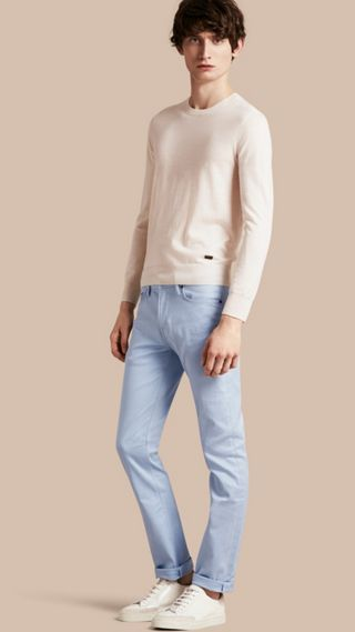 Jean slim en denim stretch japonais
