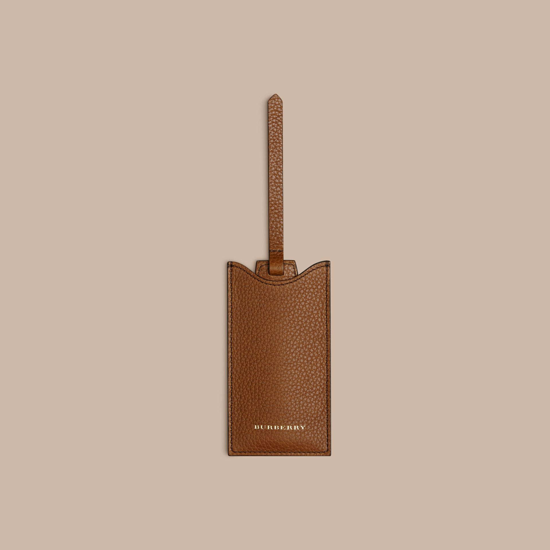 Leather Shoe Horn in Tan - Men | Burberry Canada - gallery image 4