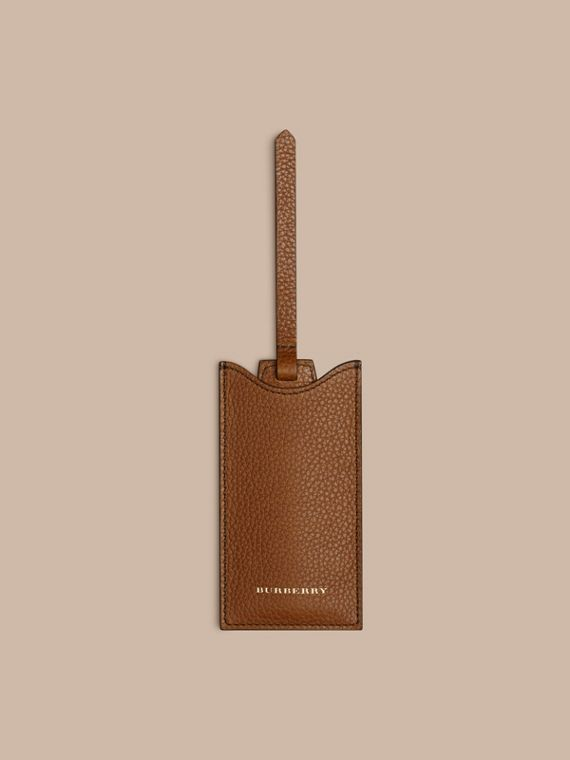 Leather Shoe Horn in Tan - Men | Burberry Canada - cell image 3