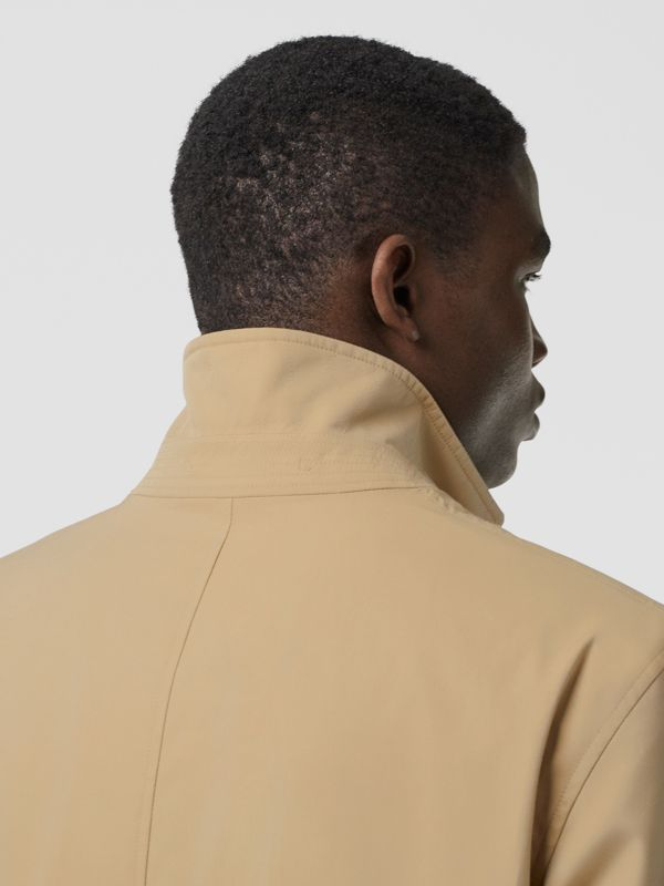 Cotton Gabardine Lab Coat in Honey - Men | Burberry - cell image 3