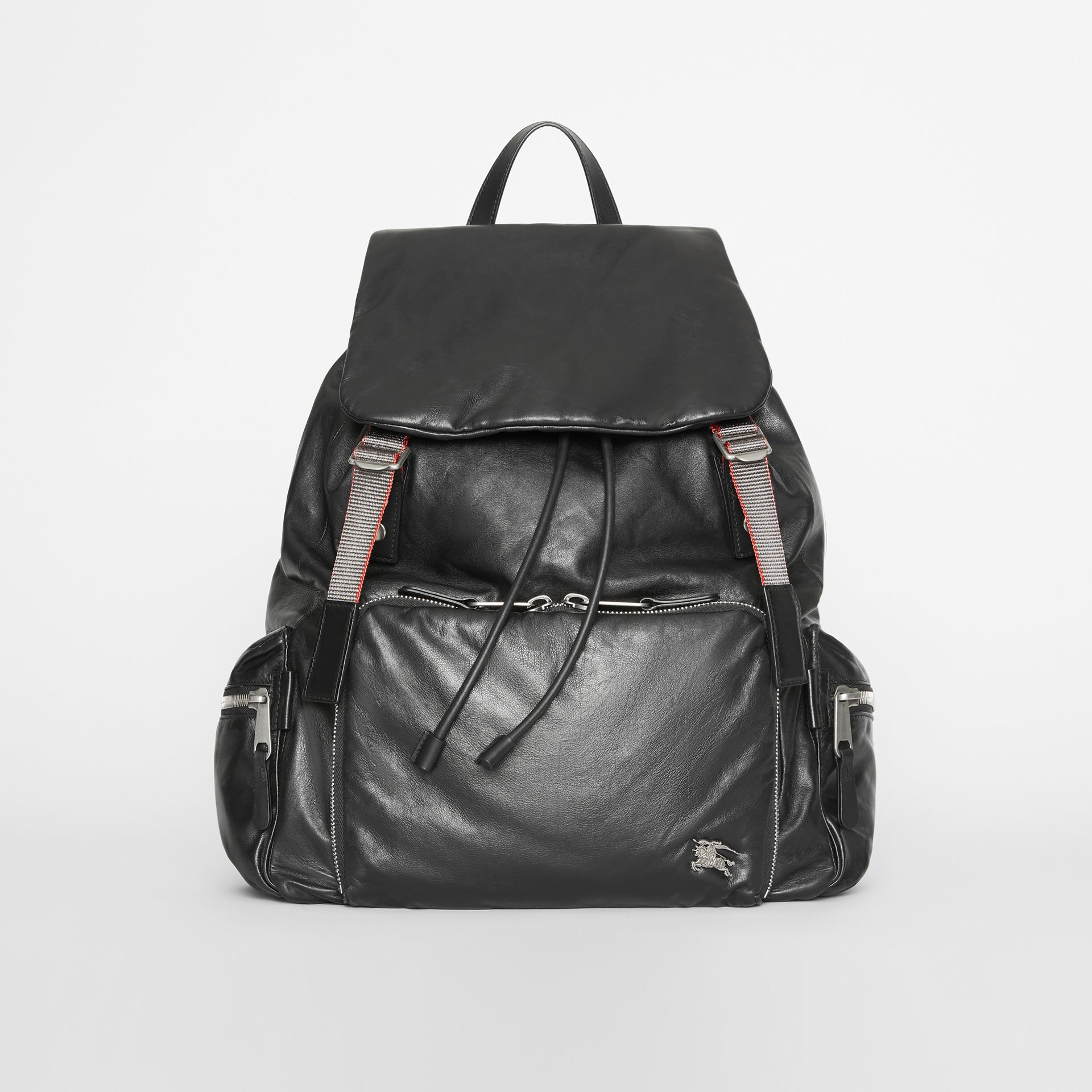 The Extra Large Rucksack in Nappa Leather in Black - Men | Burberry United States - gallery image 0