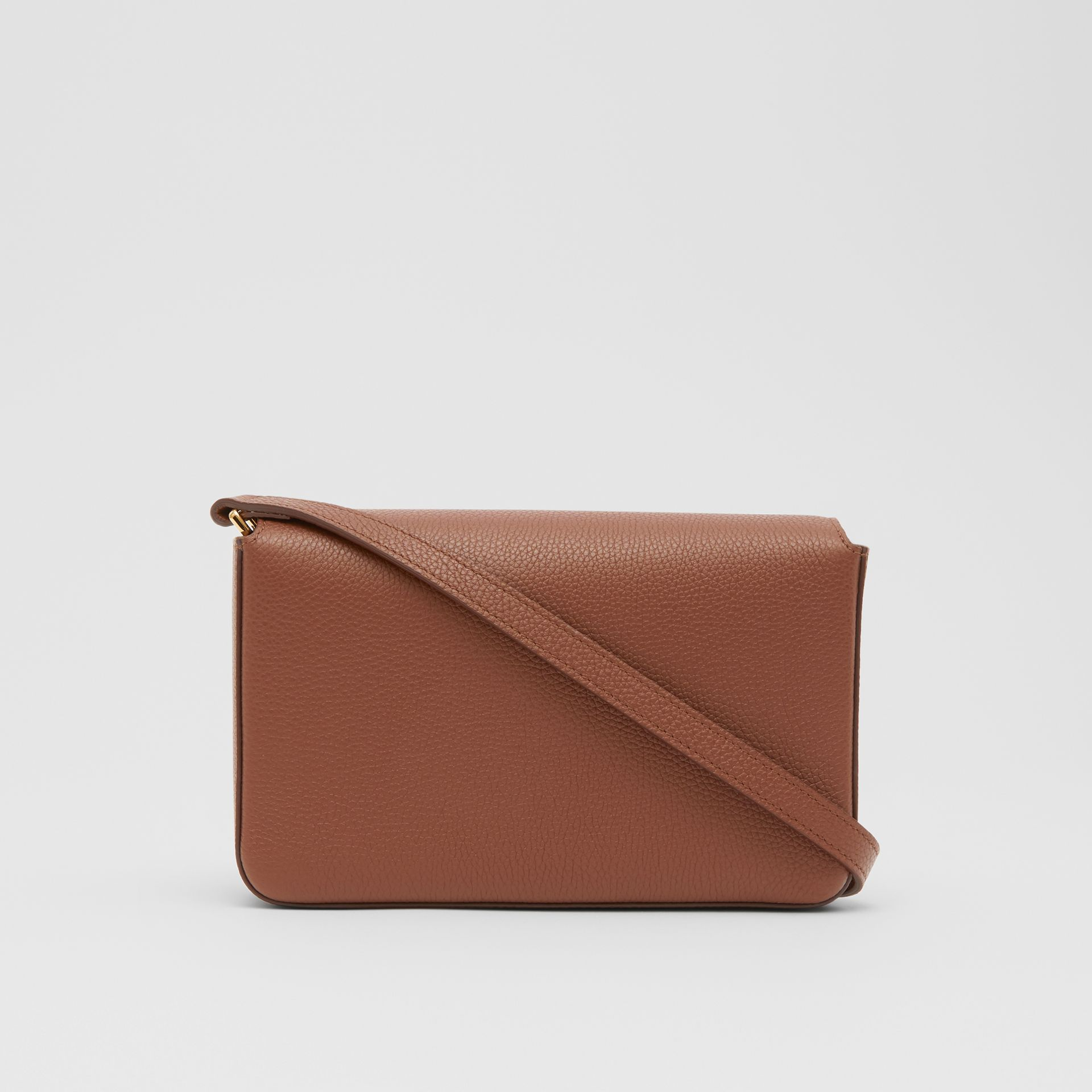 Small Leather and Vintage Check Crossbody Bag in Tan - Women | Burberry United Kingdom - gallery image 5
