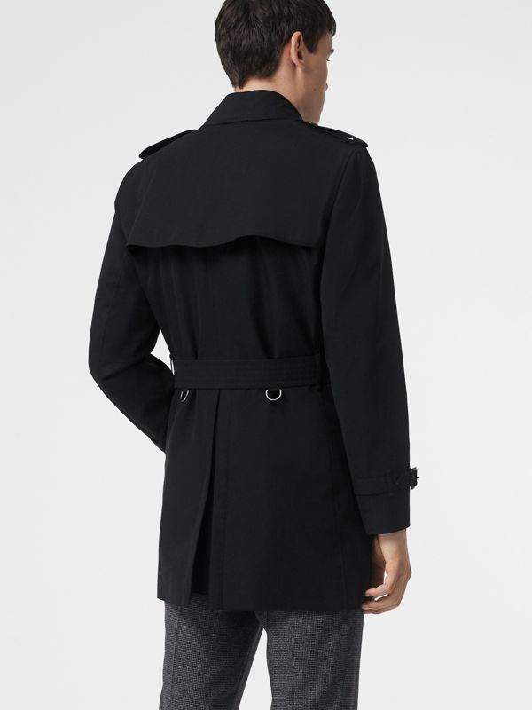 Short Chelsea Fit Trench Coat in Black - Men | Burberry - cell image 2