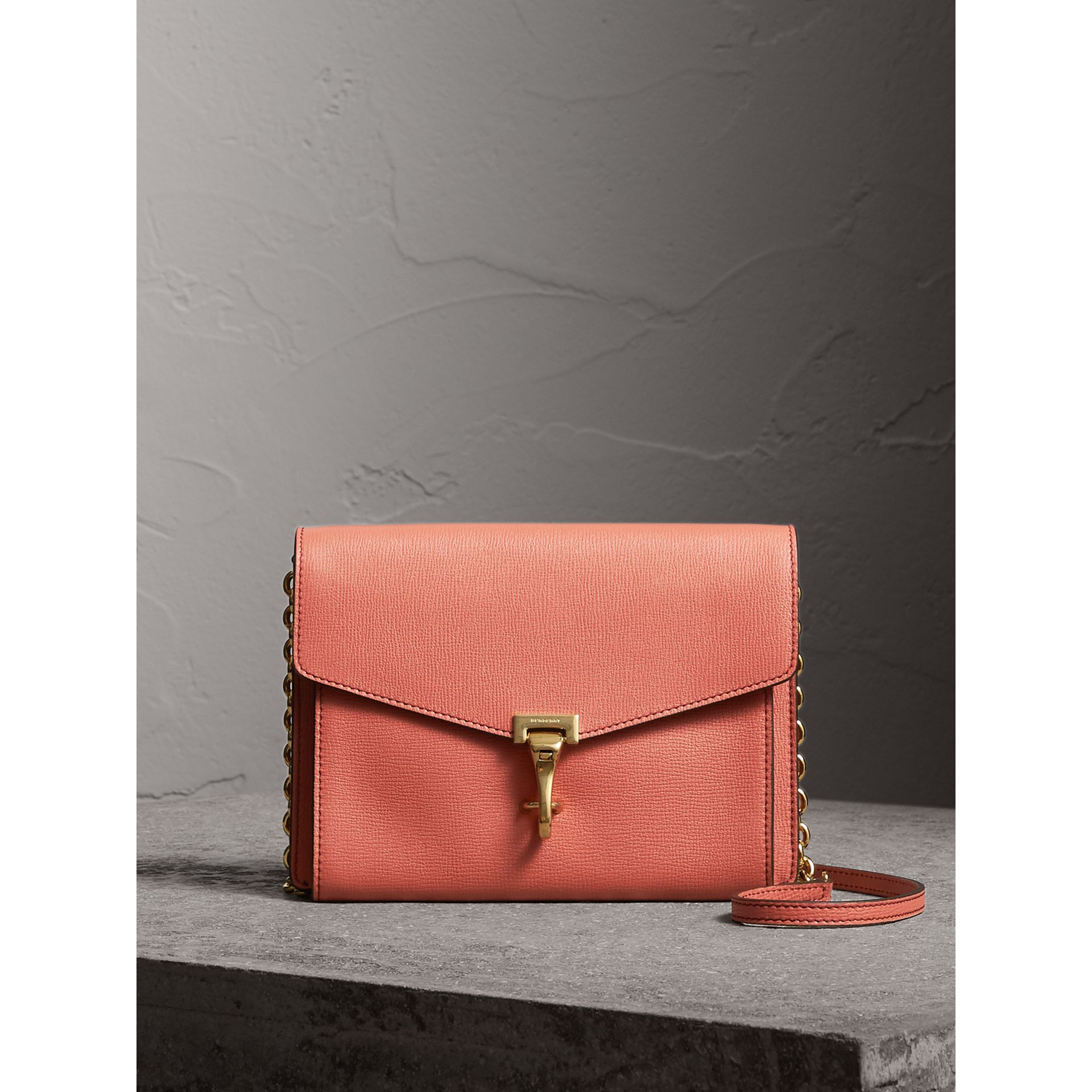 Small Leather Crossbody Bag in Cinnamon Red - Women | Burberry Hong Kong - gallery image 0