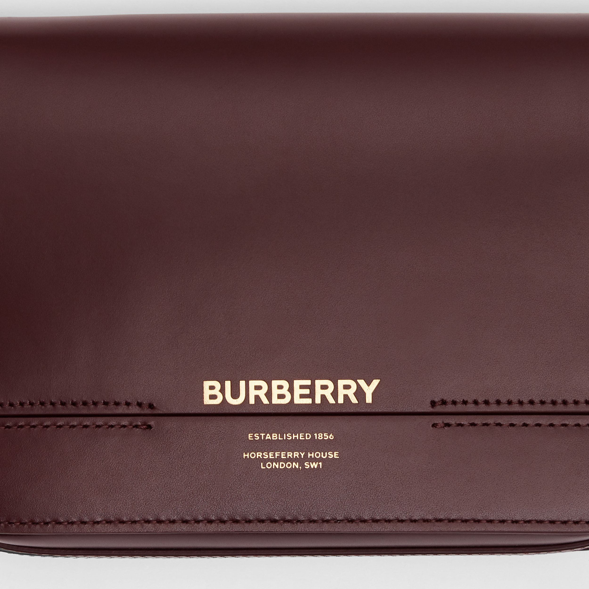 Small Leather Grace Bag in Oxblood - Women | Burberry - 2
