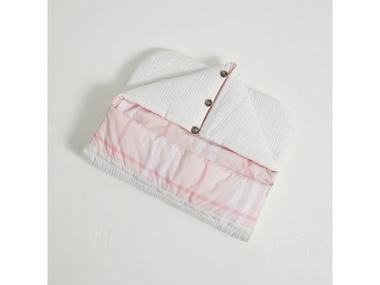 Quilted Cotton Baby Nest in Ice Pink | Burberry Canada - cell image 2