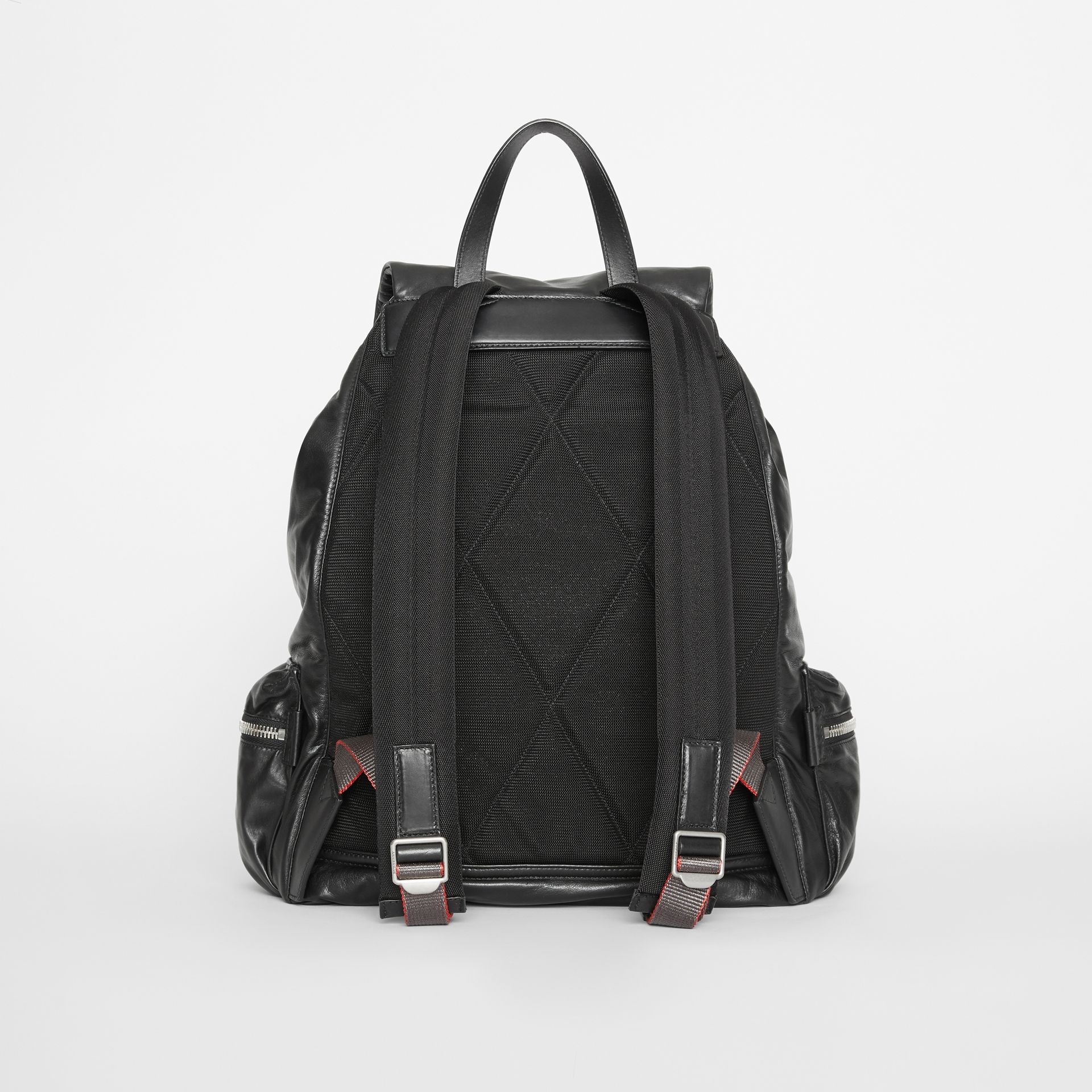 The Extra Large Rucksack in Nappa Leather in Black - Men | Burberry - gallery image 7