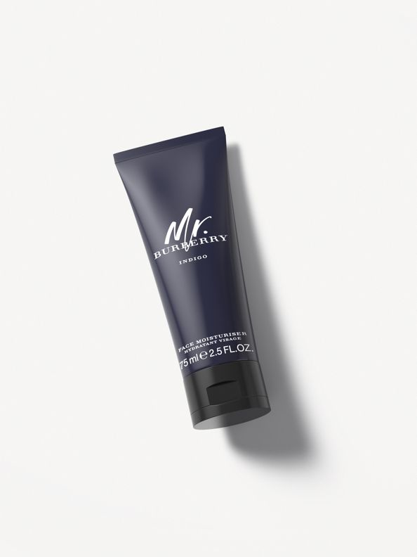 Crema hidratante facial Mr. Burberry Indigo de 75 ml