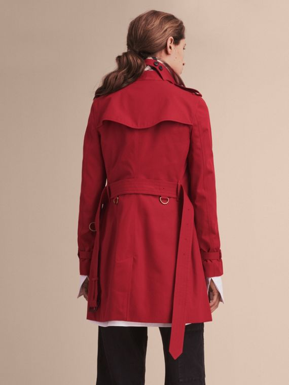 Rosso parata The Kensington - Trench coat Heritage medio Rosso Parata - cell image 3