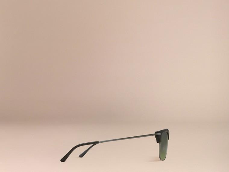 Olive Square Frame Sunglasses Olive - cell image 4