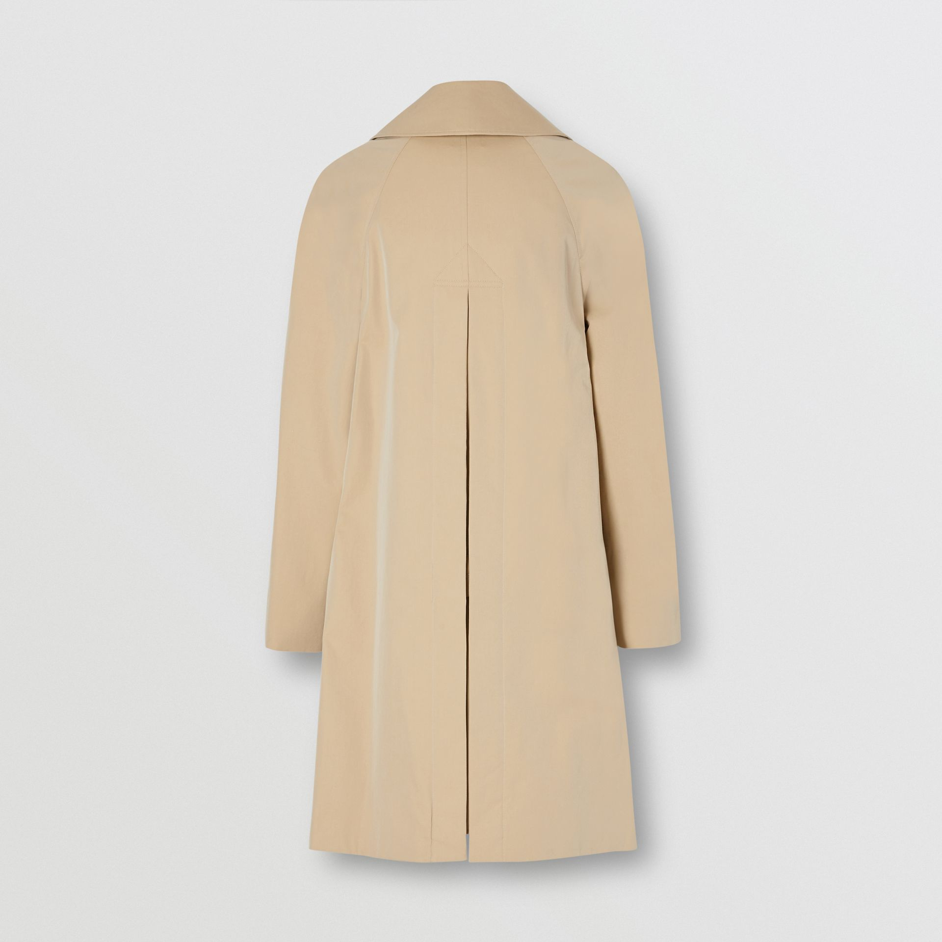 Detachable Hood Tropical Gabardine Swing Coat in Honey - Women | Burberry - gallery image 5