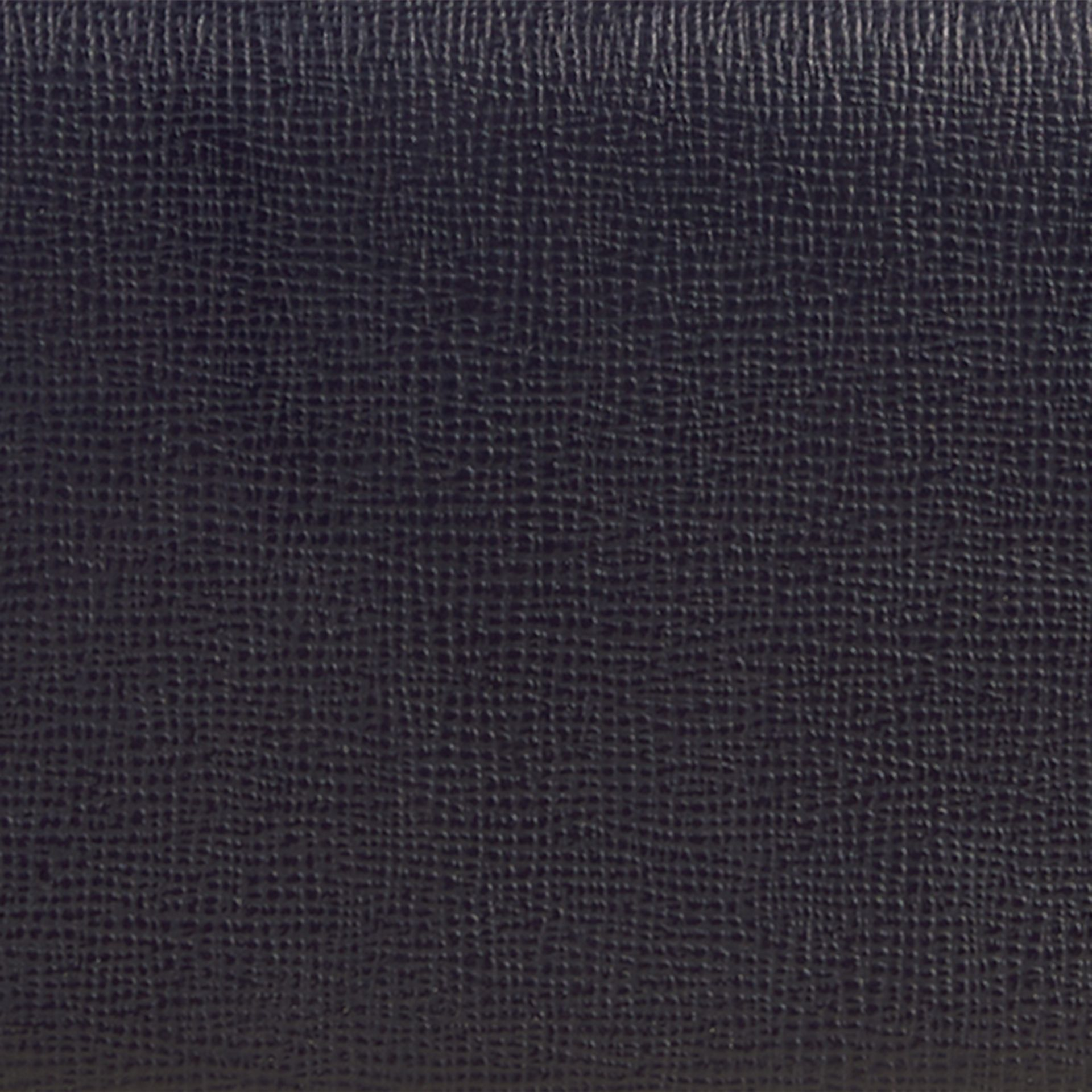 Dark navy London Leather Continental Wallet Dark Navy - gallery image 2