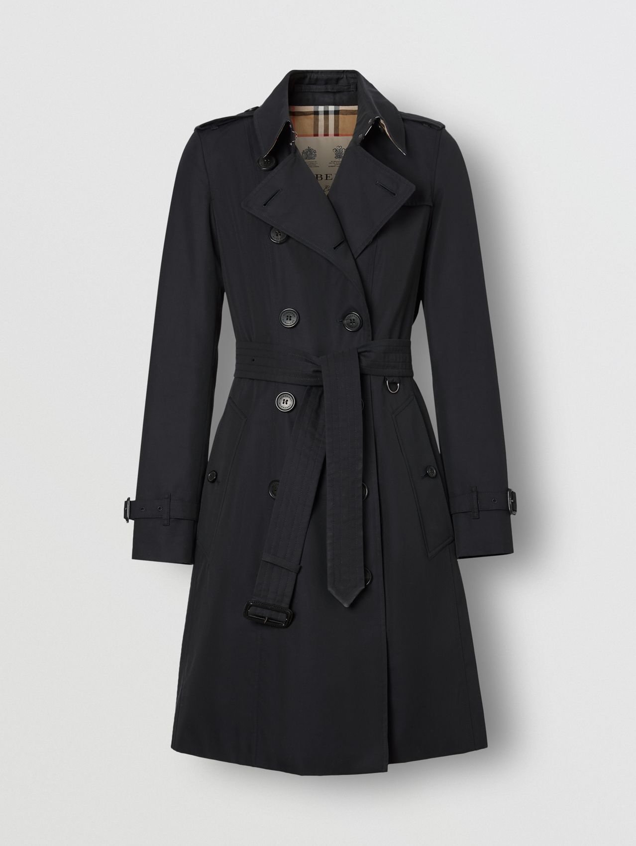 The Mid-length Chelsea Heritage Trench Coat (Midnight)