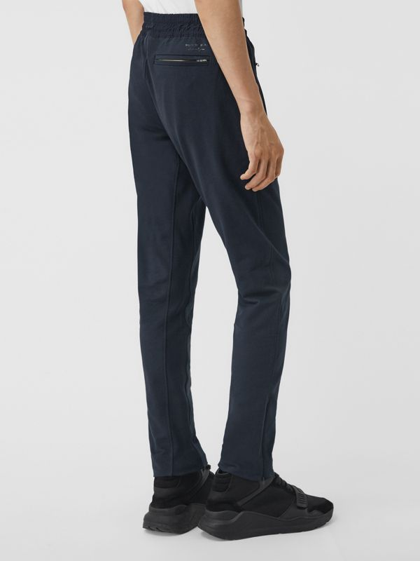 Cotton Sweatpants in Navy - Men | Burberry United Kingdom - cell image 2