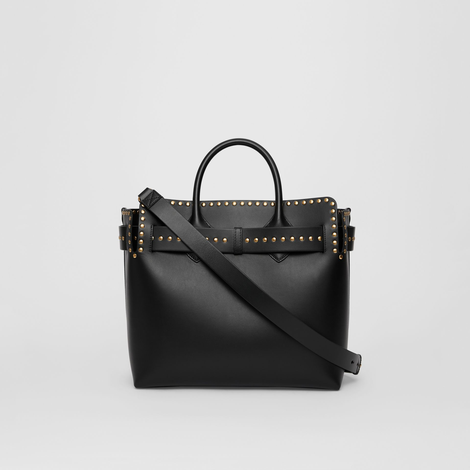The Medium Studded Leather Triple Stud Belt Bag in Black - Women | Burberry Australia - gallery image 7